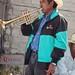 Trompeta - Fiesta Guadalupana - Festival of the Virgin of Guadalupe, Nieves Ixpantepec, Oaxaca, Mexico por Lon&Queta
