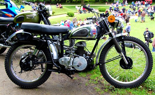 THE DOT MOTORCYCLE.VILLIERS SINGLE CYLINDER TWO STROKE. UK.