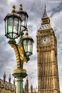 Big Ben Seen From Westminster Bridge