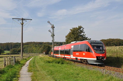 DB 643 055, Billerbeck, 24-09-2011