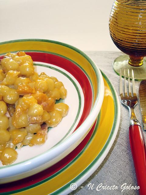 Chicche di patate con zucca 2