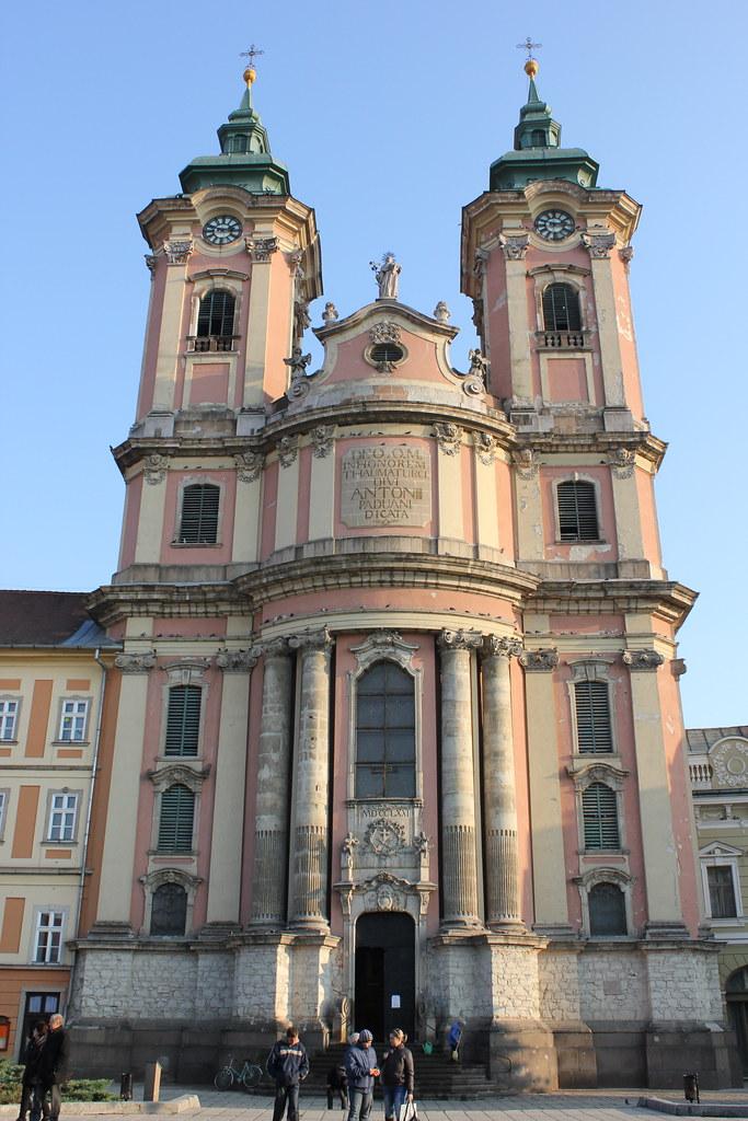 Szent Antal templom en Eger