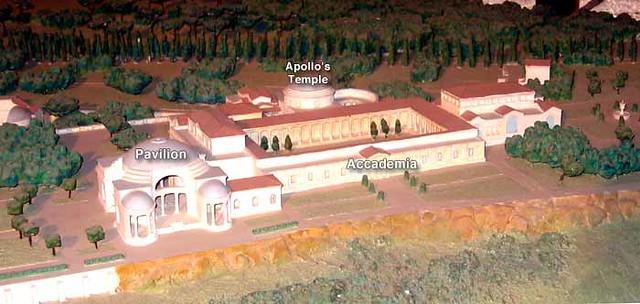 The Accademia, Plastic Model, Hadrian's Villa, Tivoli