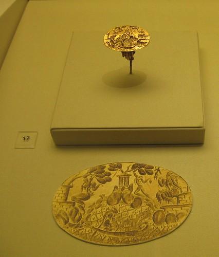 Minoan Signet Ring (1600 - 1450 BCE)