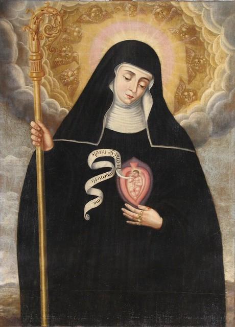 Santa Gertrudis la Magna/Heilige Gertrude von Grasse/St. Gertrude the Great