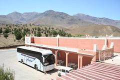 Autocarro CTM nas Montanhas do Atlas