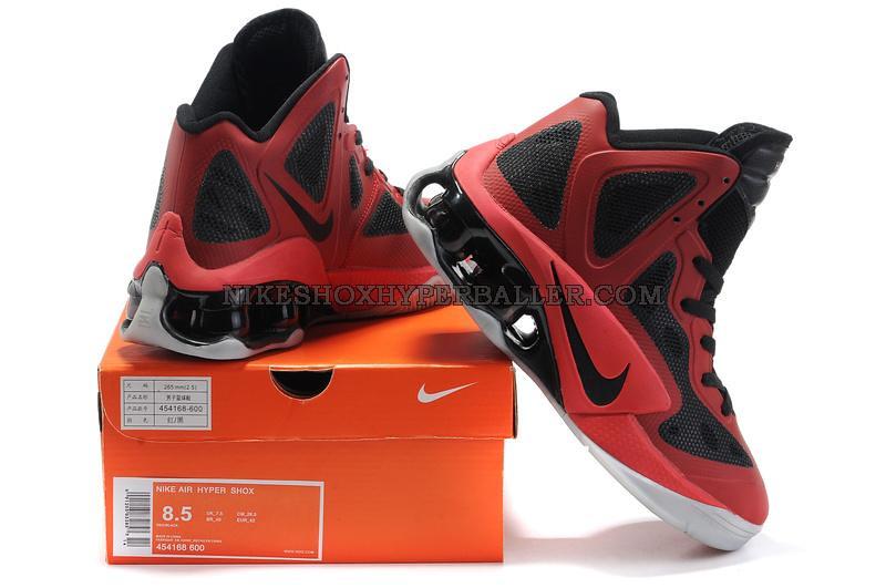 the best attitude a532f e8166 ... Nike Air Shox Hyperballer red black (1)   by RunningSneakers