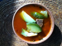 Often I confuse mole with Mole de Olla @ Oaxaca 11.2011
