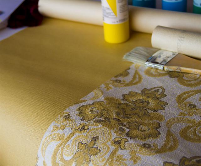 papel pintado, proyectos