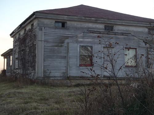 Abandoned House; Burlington, Wisconsin