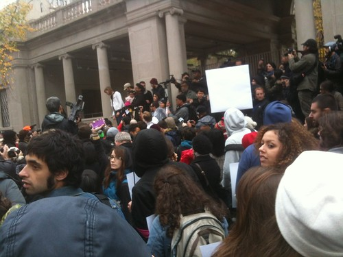 Occupy Wall Street has mobilized many segments of the people including students. In New York thousands gathered to protest tuition hikes, student loan debt and low-wage employment. by Pan-African News Wire File Photos