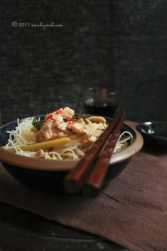 Thai Curry Noodles (Thai Laksa)