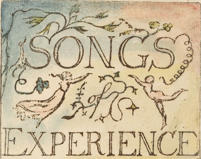 Songs of Experience - title page (cropped)