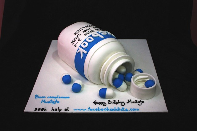 Share Cake Pictures On Facebook : facebook addict pills cake Flickr - Photo Sharing!