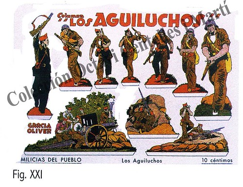 Recortable columna «Los Aguiluchos» by Octavi Centelles