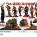Recortable columna «Los Aguiluchos»