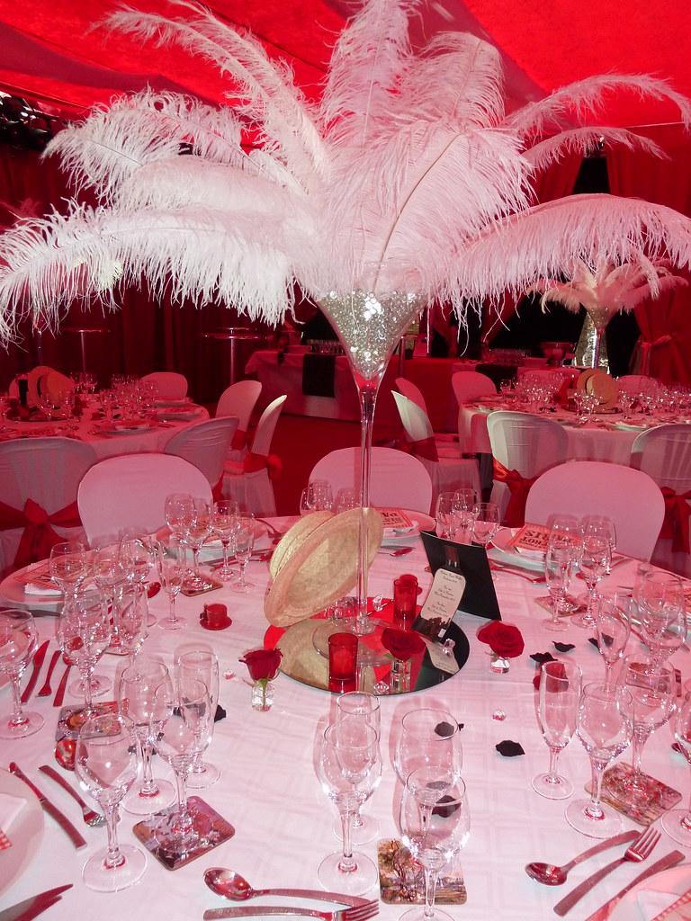 Decoration evenementielle theme cabaret decoratrice for Decoration evenementielle