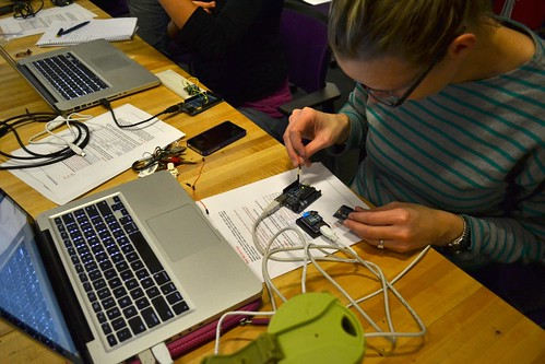 Working on XBees | High-Low Tech | MIT Media Lab