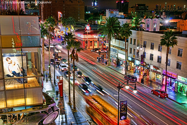 Hollywood Boulevard & Highland Avenue, Los Angeles