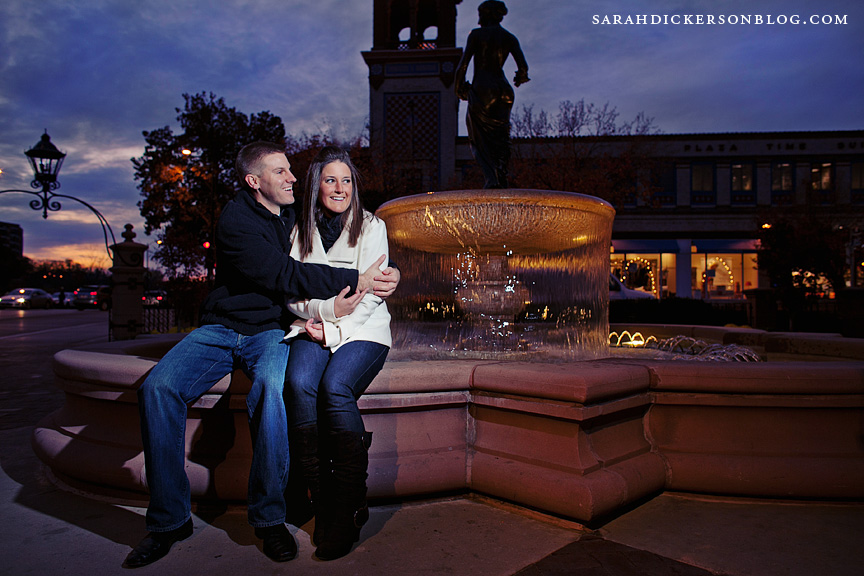 Country Club Plaza engagement photographers