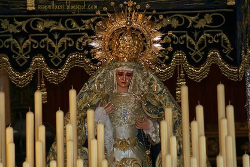Virgen de las Lágrimas, Hermandad de la Exaltación de Sevilla, Jueves Santo 2010