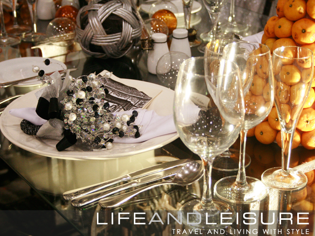 table setting at the Grand Culinary Challenge