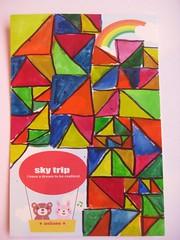 handmade postcard 10 2012