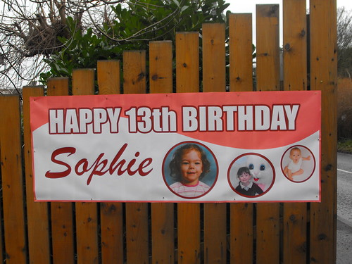 FULL COLOUR PRINTED BIRTHDAY BANNER