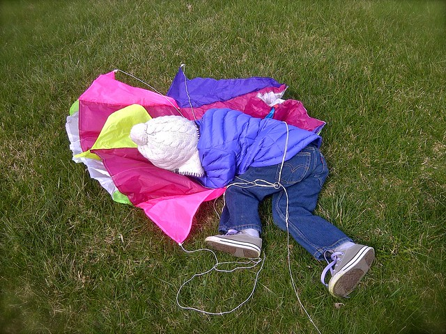 Tangled up in kite