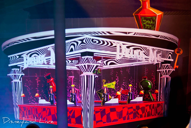 Cars Land / Buena Vista Street AP Merchandise Showcase - Mad T Party Bar Concept Art