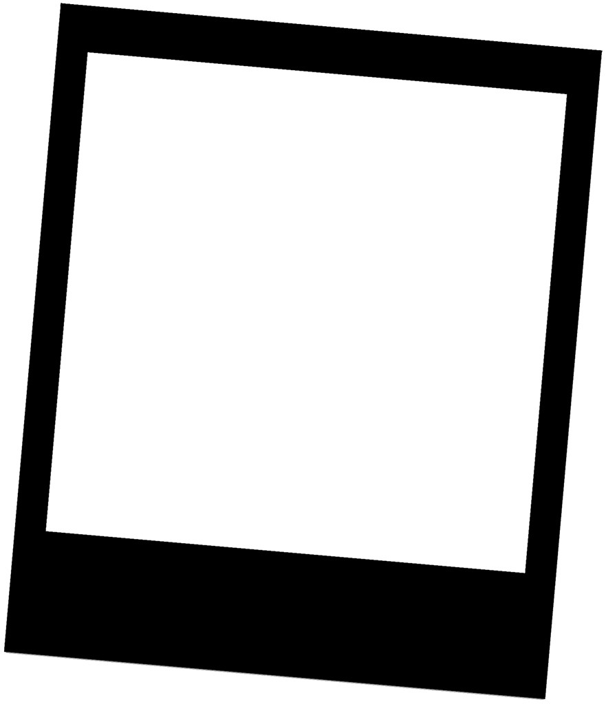Picmonkey Black Polaroid Frame On White Template Flickr