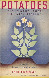 Potato recipe booklet by Elizabeth Craig, issued by the Potato Marketing Board - 1934