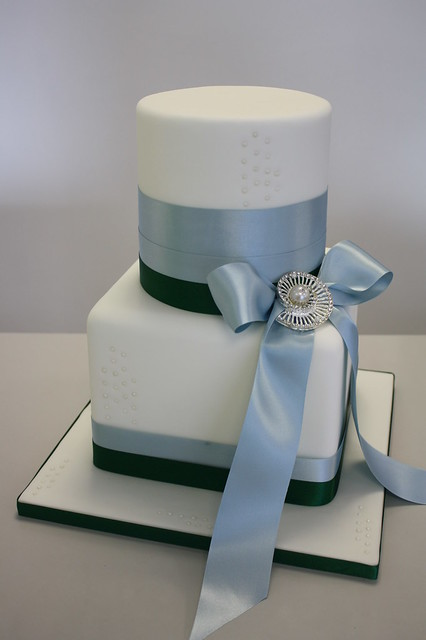 CAKE New wedding cake design New for shop display white base with ice