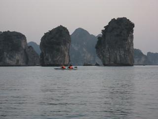 Halong Bay, kayaking