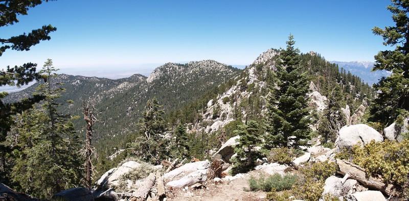 Fuller Ridge Trail panorama