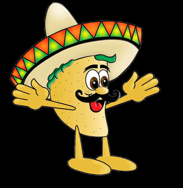 dancing taco coloring pages - photo#33