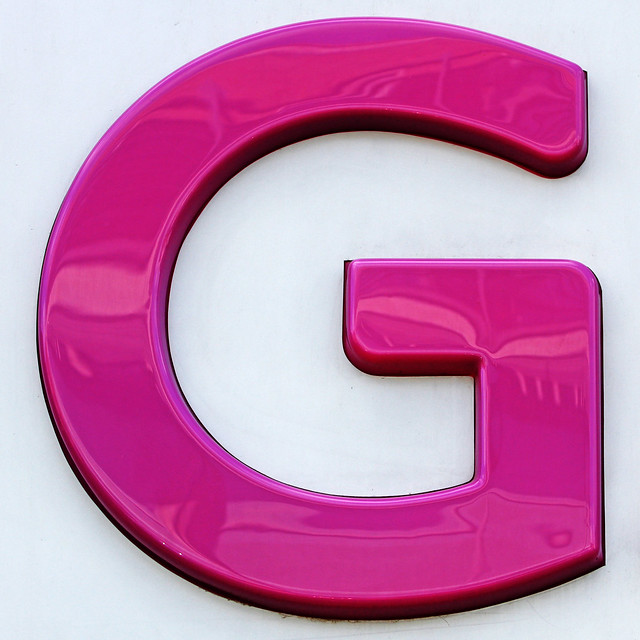 Large Letter G Nd Class