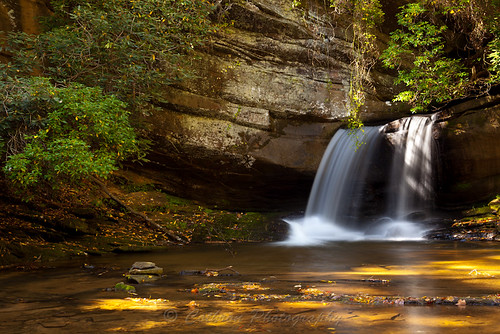 autumn usa fall nature water georgia waterfall outdoor clarkesville habershamcounty johncothron rapercreekfalls cothronphotography