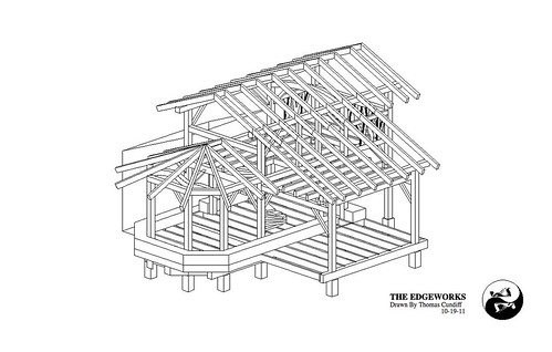 Free Small Timber Frame House Plans The Year Of Mud