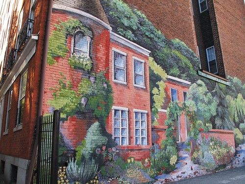 Baltimore MD - My Sister's Garden mural