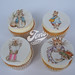 Hand painted Beatrix Potter Cupcakes
