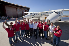 Scaled Composites Team. Photo by Mark Greenberg