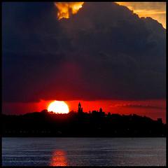 Gardoš sunset