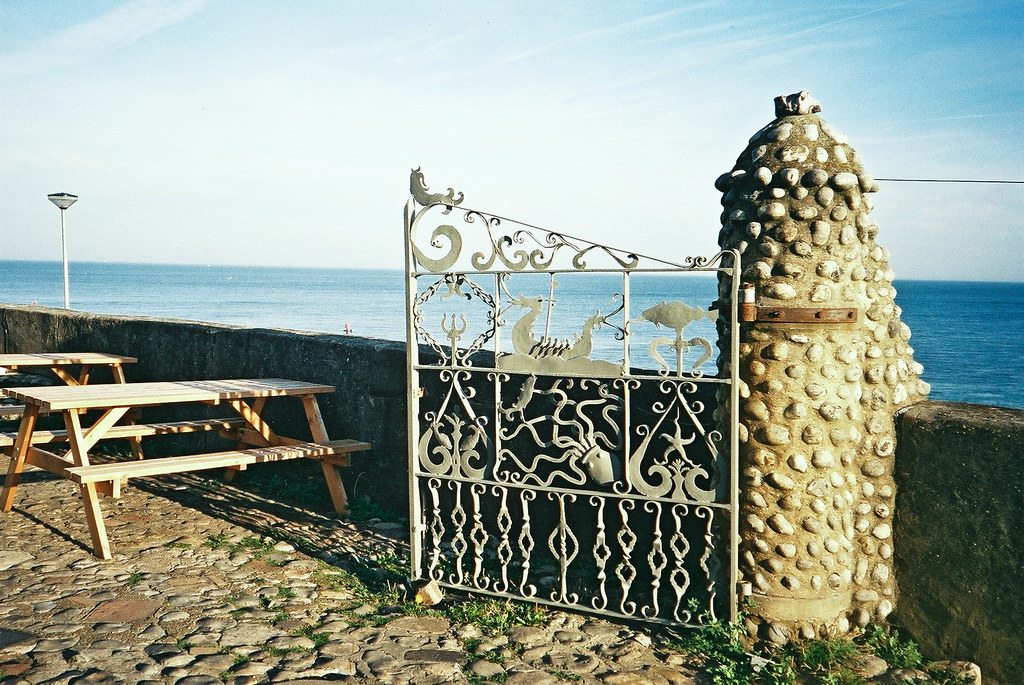 Sheringham sea gate