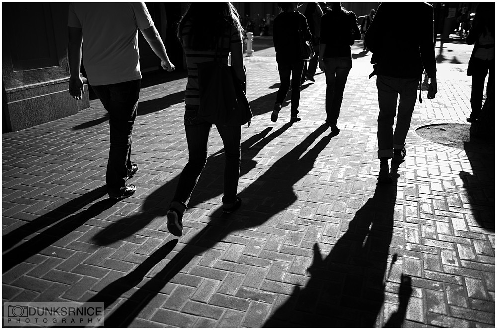Shadows B&W.