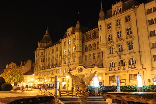 Arany Bika, el hotel más famoso de Debrecen