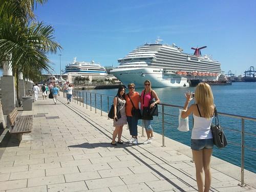 El Crucero Carnival Magic, el nuevo buque de Carnival Cruise Lines en Las Palmas de Gran Canaria by El coleccionista de instantes