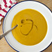 butternut squash and pear soup with garam masala