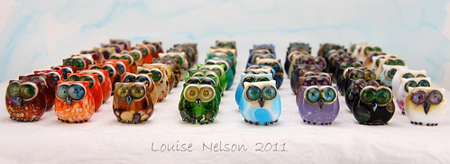 Louise Nelson Owl army 2011
