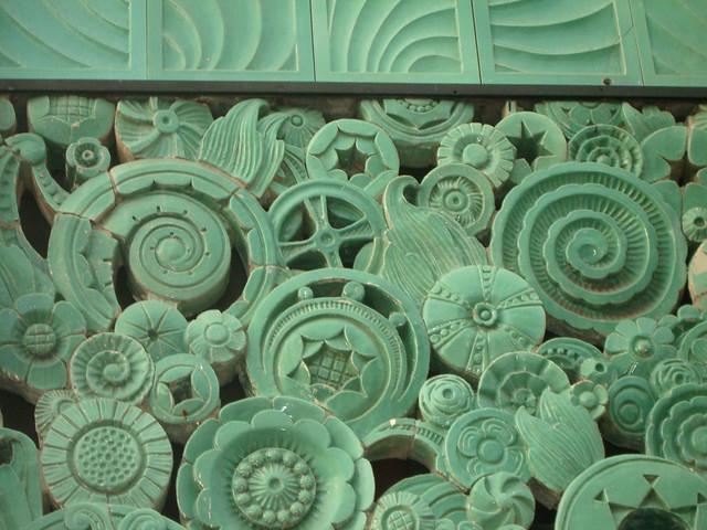 Art Deco Ceramic Tiles In Pasadena California I Have